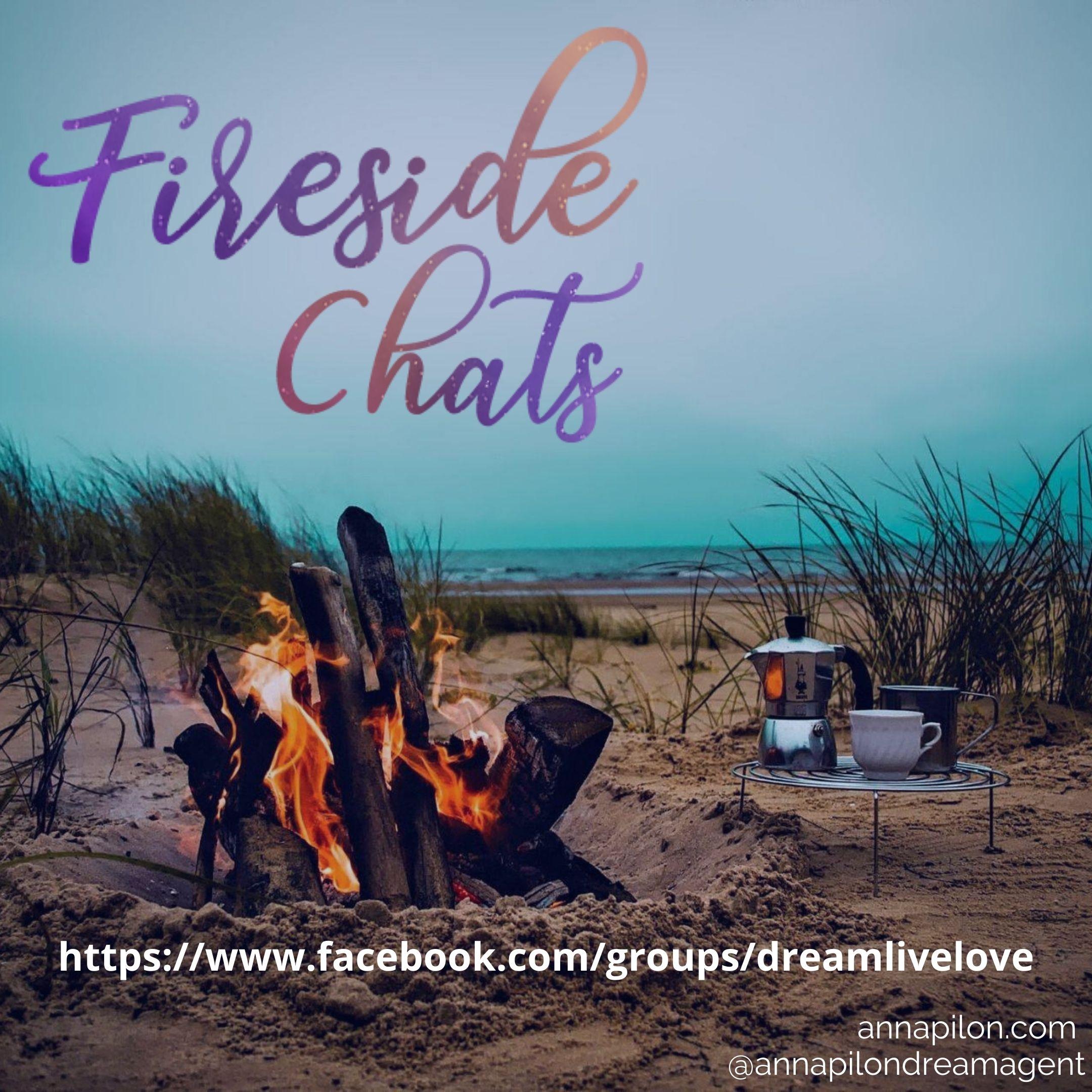 Anna Pilon, Fireside Chat, Facebook